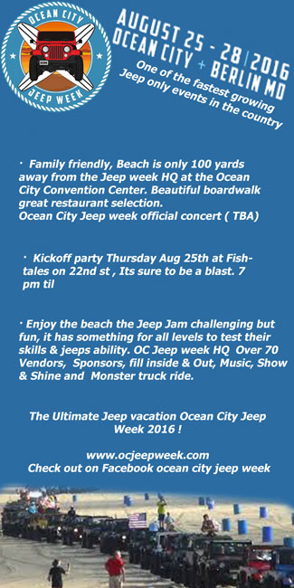 Ocean City Jeep Week