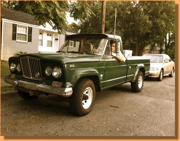 The Peach Truck One Sweet '64 Gladiator Jeep Truck