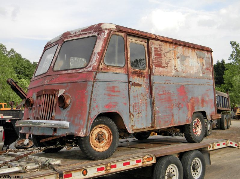 Rediscovering the Willys Overland Urban Package Delivery Van